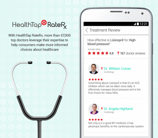 HealthTap_RateRx_TreatmentReview_AndroidApp