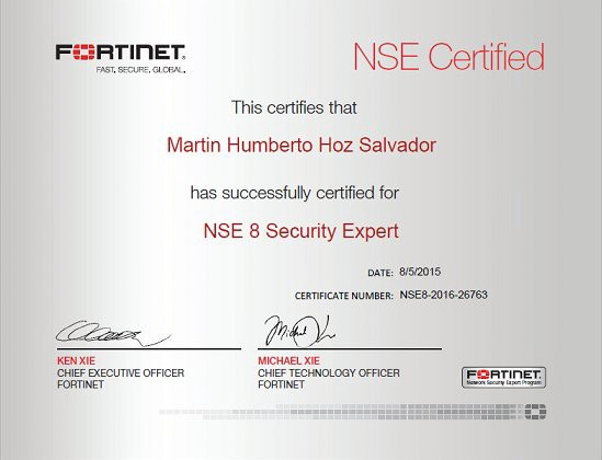 Fortinate network security certifications: Most Demanded and Trended