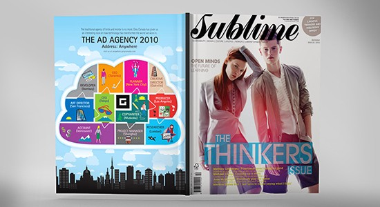 How to create high impact magazine page layout design