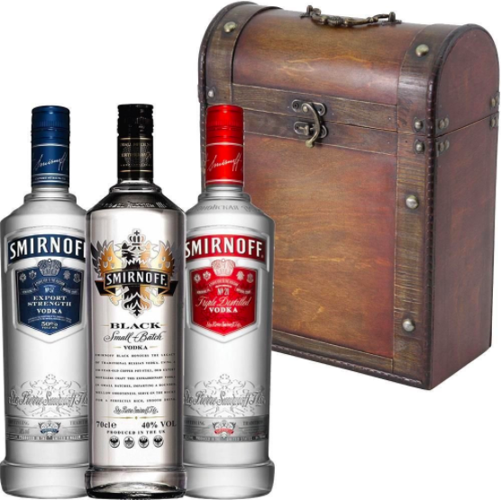 Best selling vodka in usa