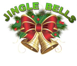 image of bells and text depicting jingle bells