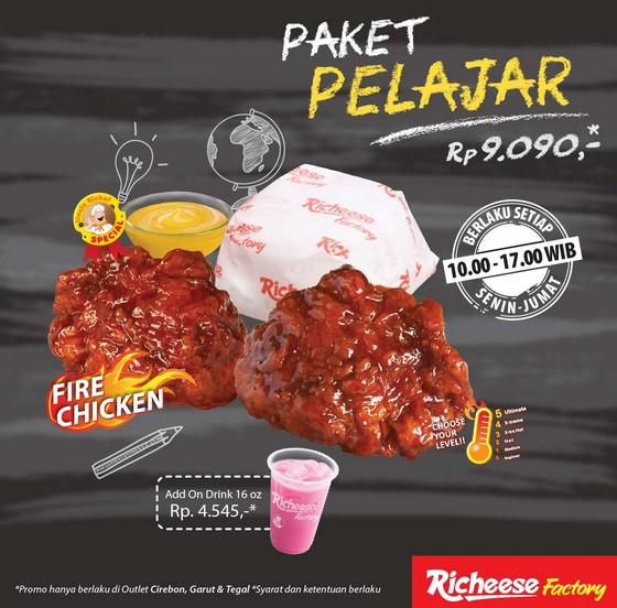 Promo Richeese Factory Hari Ini Mikhaila Warsita Medium