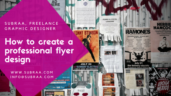 how to create a professional flyer design a design guide for beginners