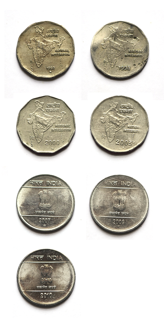 Two Rus Coin From 1992 2010