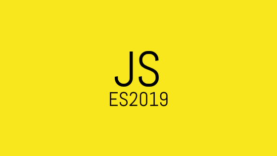 What's new in JavaScript ES2019