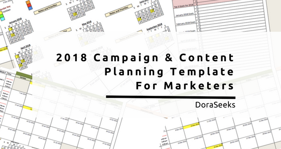 Free Annual Marketing Campaign Planning Template - Marketing campaign template