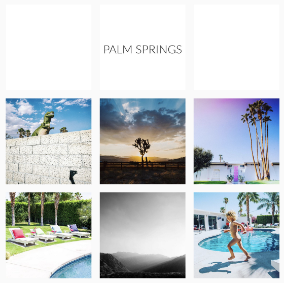 tips for documenting your vacation: Six key images: Palm Springs