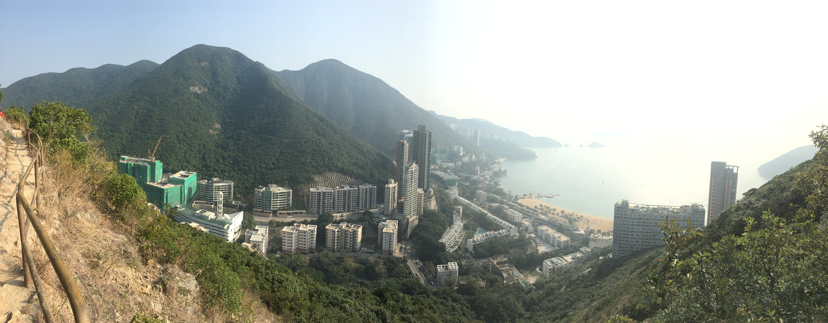 View of Repulse Bay from the Hike