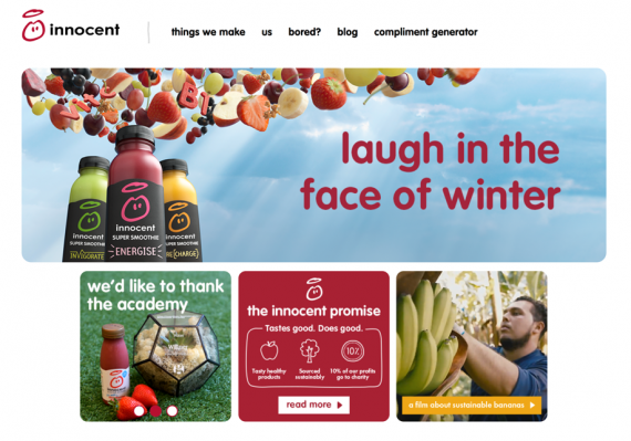 innocent smoothie supply chain Innocent smoothies says it is simply a case of the company not updating its website • supply chain • the next economy • transformational leadership.