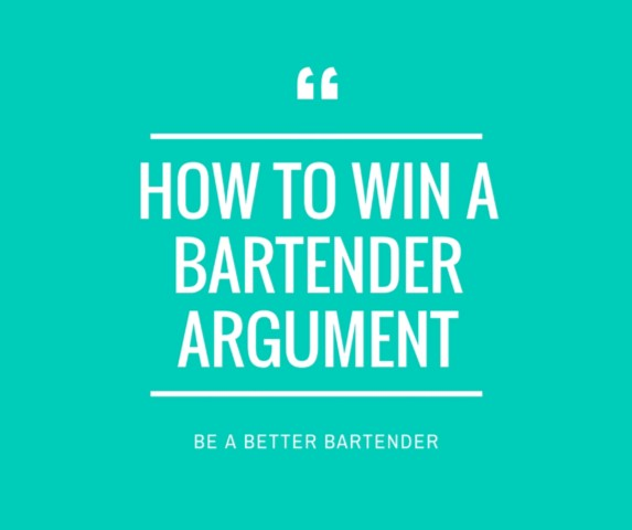 how to become a better bartender