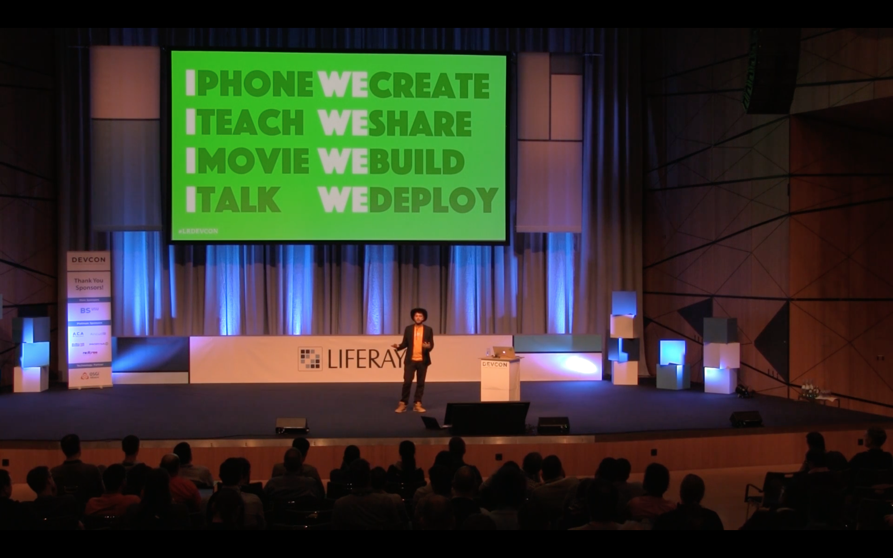 Presenting WeDeploy Alpha at Liferay DevCon (Germany, 2016)