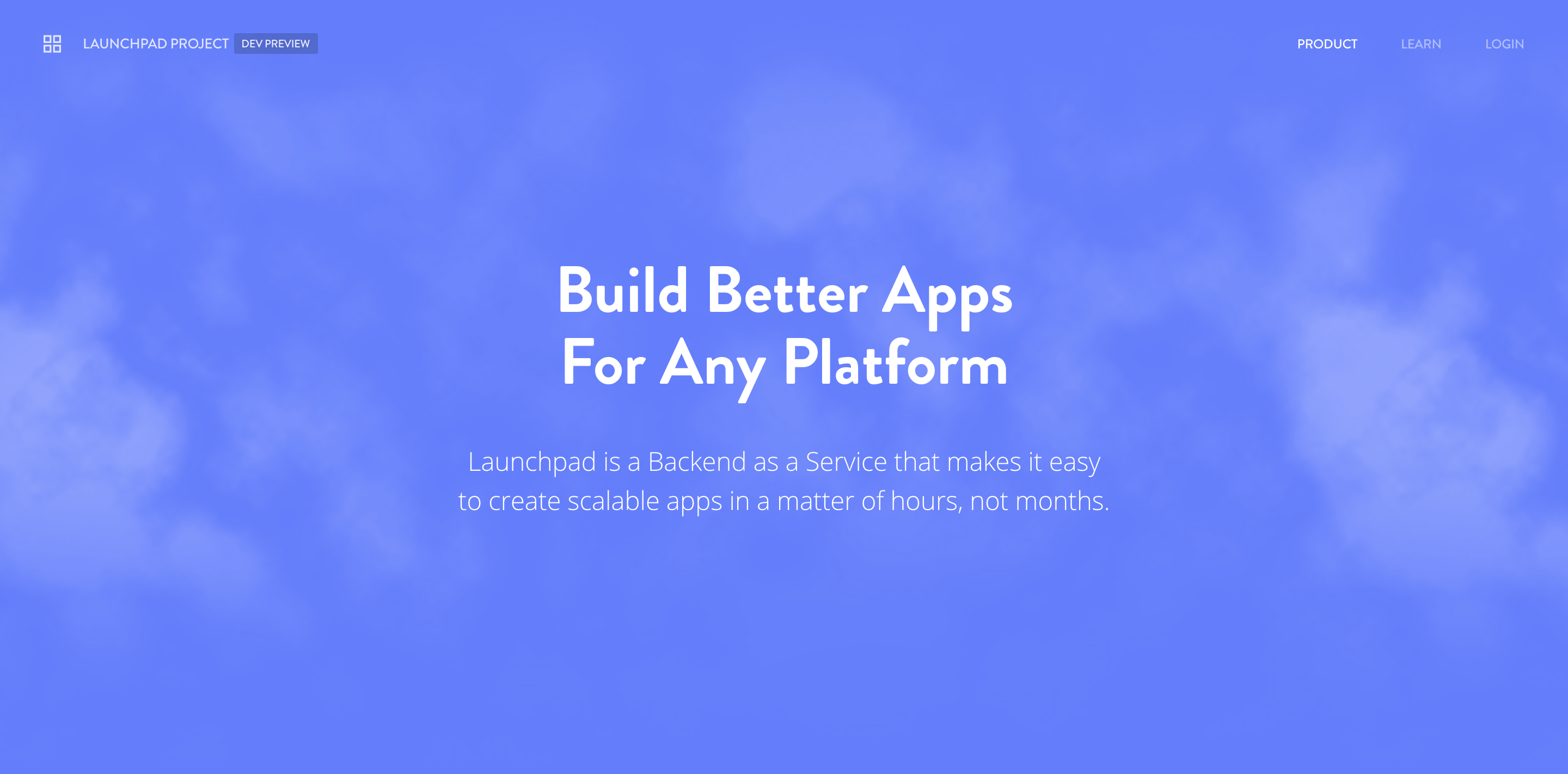 Launchpad Developer Preview (2015)