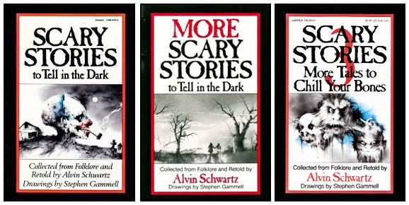 In the Dark and the Gloom: Alvin Schwartz's Scary Stories to