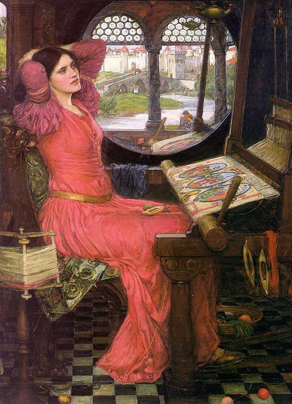 lady of shalott questions