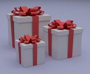 What gift can you give to get new leads?