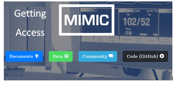 Getting access to MIMIC III hospital database for data science projects