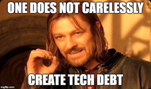 Why You Should Pay Your Tech Debt