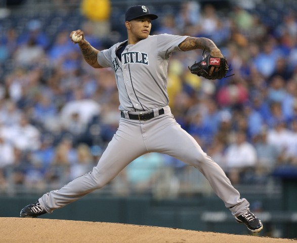 Taijuan Walker went 1-0 with a 3.60 ERA in three starts with the Mariners last season.