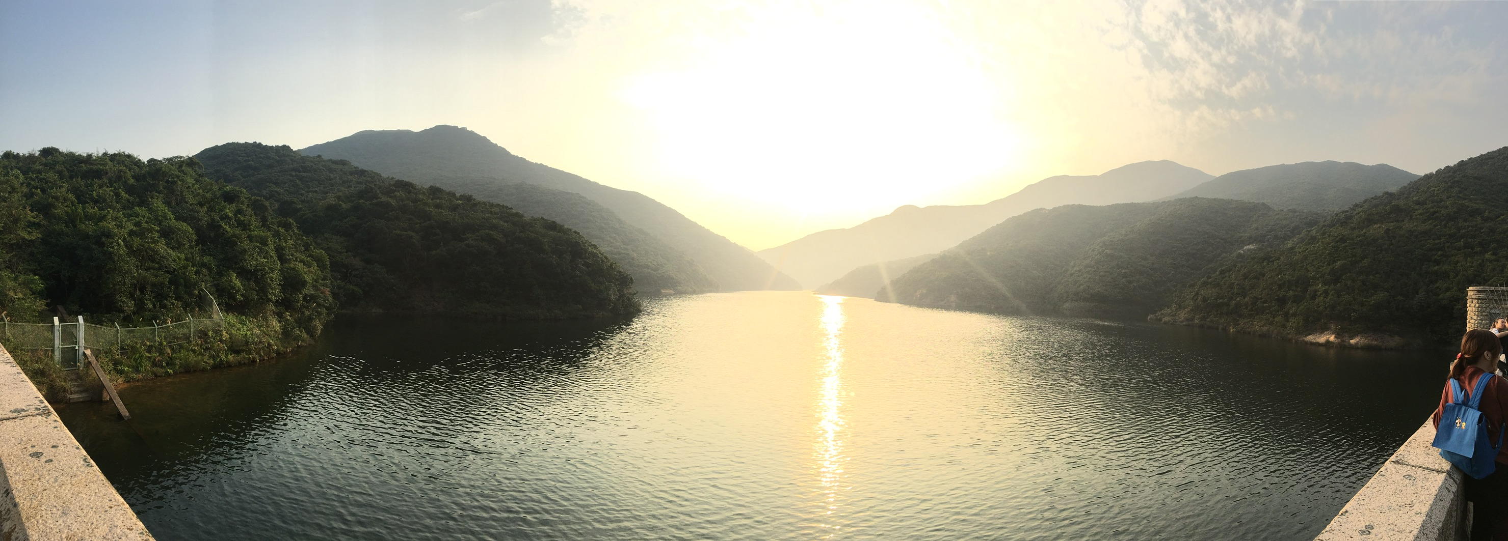 View of the Tai Tam Reservoir