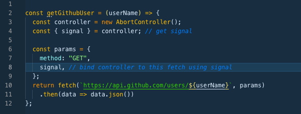 How you can abort Fetch() request on a flight… – ITmix cz
