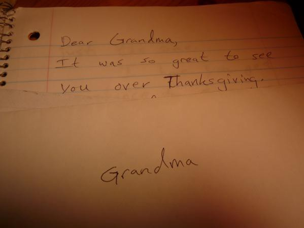 Why Not Write Your Grandparents A Letter? – The Awl