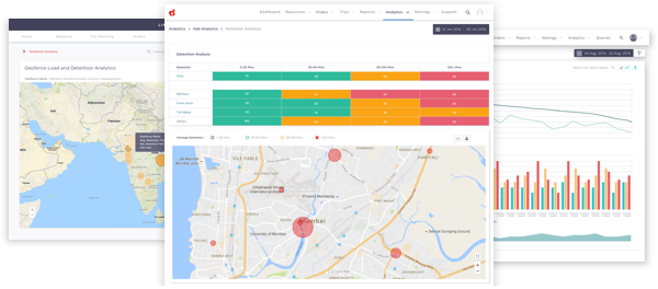 LogiNext Mile - Custom Analytics Dashboard for Logistics & Field Service Optimization