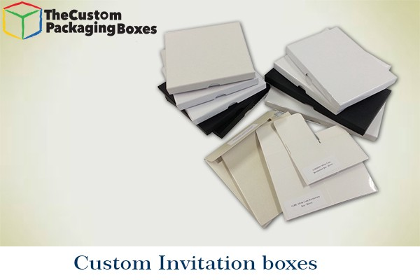 Custom printed invitation boxes wholesale the custom packaging apart from innovation if you are wondering why do you need invitation boxes when you have the outer cover here are few reasons stopboris Images