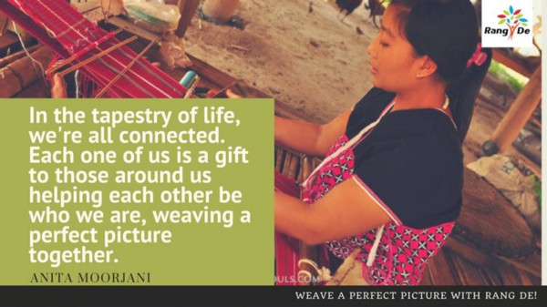A Look Into The Lives Of Weavers Who Benefited From Micro-Loans