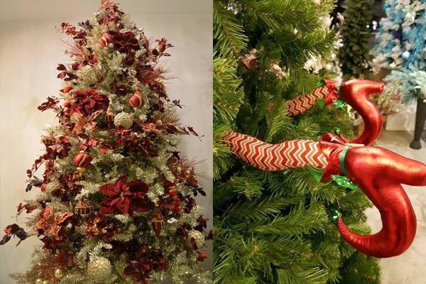 high quality christmas trees and some quirky tree decors at ingarden images ingardens facebook page