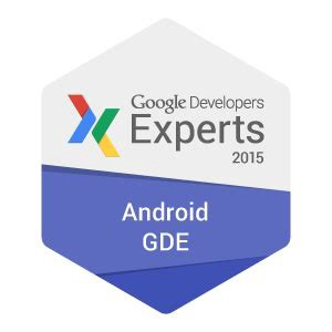 A badge for Android GDE