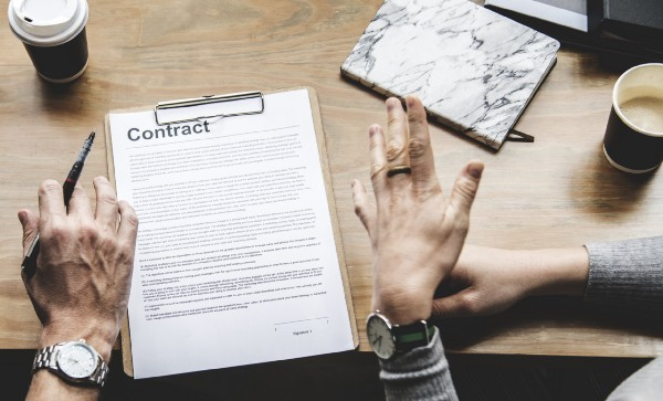 slowing down the contract process