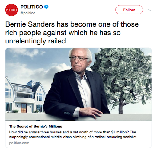 Bernie's opponents have exploited anti-Semitic tropes— but no one is talking about it