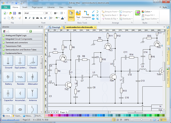 Electrical drawing software olivia camp medium with our electrical drawing software its ideal to design malvernweather Image collections