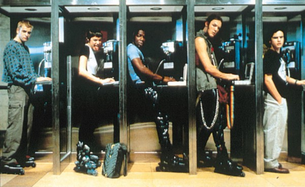 Image result for hackers phone booth