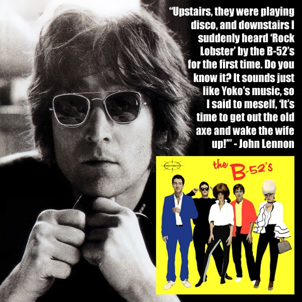 How Rock Lobster Inspired John Lennon