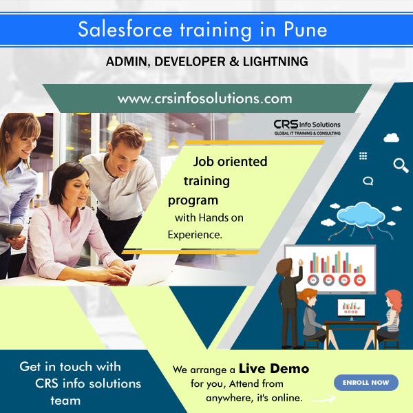 Salesforce Admin, Developer and Lightning Training in Pune, India