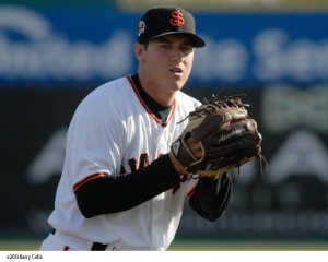 Ty Blach was one of seven 2013 San Jose Giants extended a non-roster invitation to major league spring training