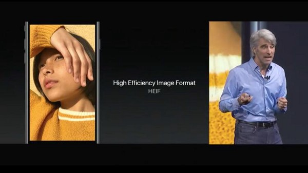 HEIF High Efficiency Image Format