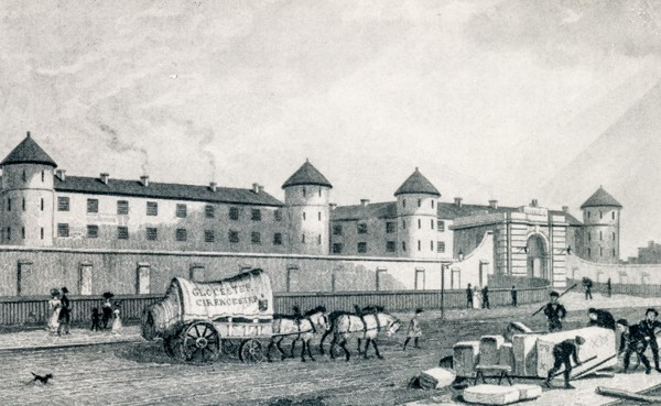 Millbank Penitentiary, 1829