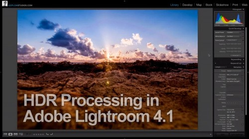 HDR Processing in Lightroom 4.1