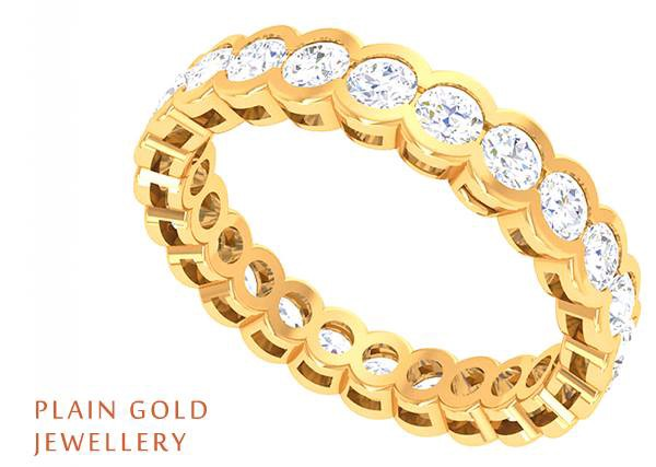 Different Types of Gold Bangles Cluster Jewellery Medium