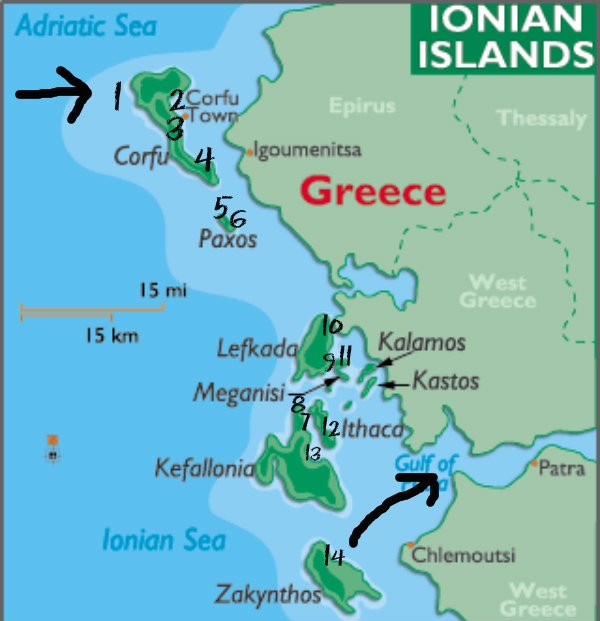 Top Yachting Destinations in Greece