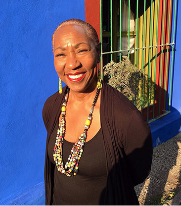 Jennifer Lawson at Frida Kahlo's House, Mexico City