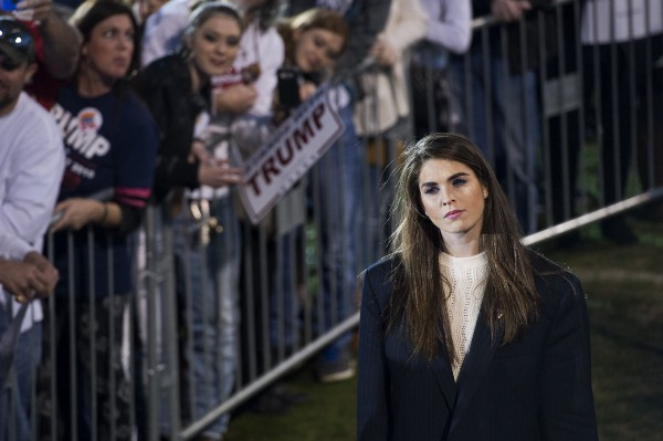 Hope Hicks (Getty Images)