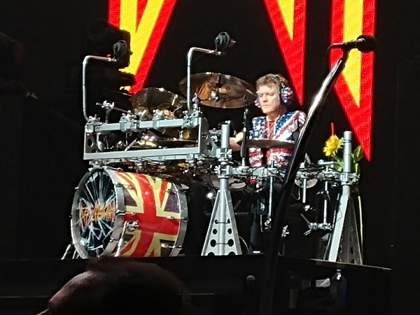 Rick allen drum set
