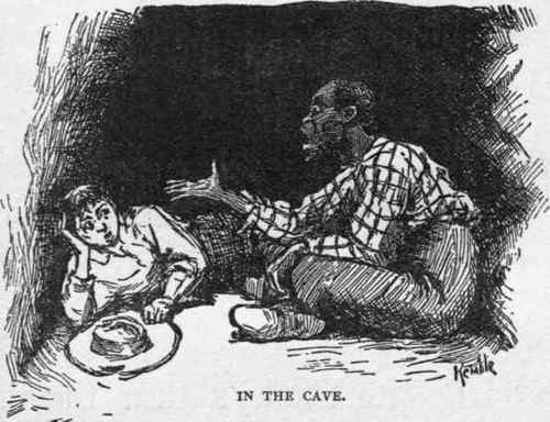 debate on racism in mark twains the adventures of huckleberry finn A new edition of mark twain's adventures of huckleberry finn is  1835 and  1845, the novel satirises southern attitudes on race and slavery  the press  have also weighed in to the debate, generally in defence of the.