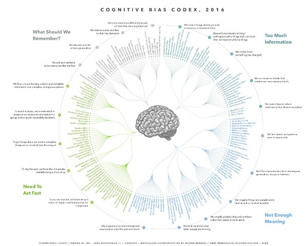 Image result for logical fallacies and cognitive biases