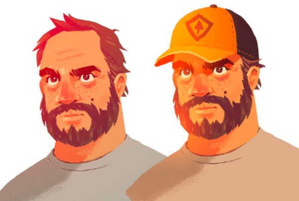 Finding Henry Embodying A Character In Firewatch Concept Art