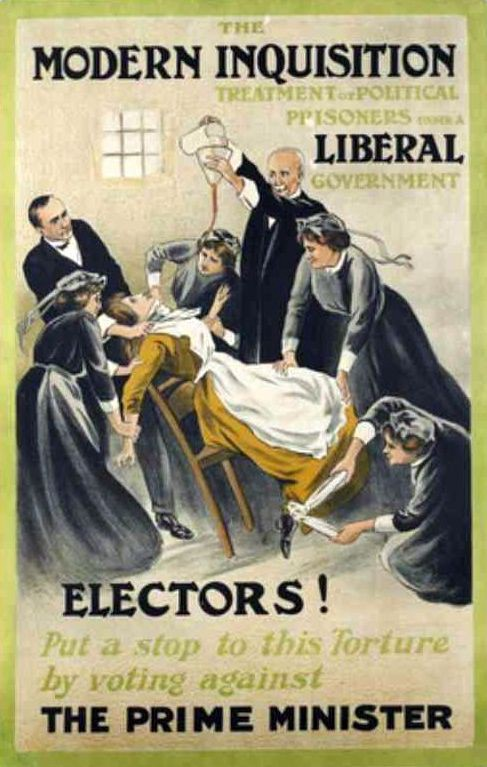 Poster by Alfred Pearce for the Women's Social and Political Union, 1910