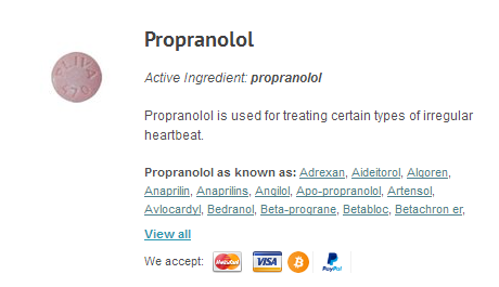 Buy Propranolol Online, Delivered | Propranolol Without Prescription, Safety Info